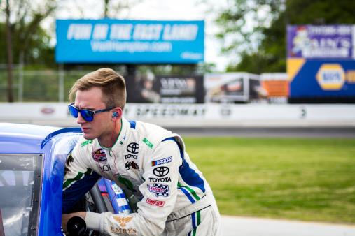 Garrett Gears Up for First Career Road Course Start